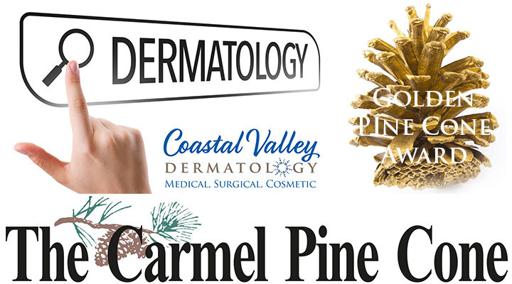 coastal-valley-dermatology-carmel-golden-pine-cone-award-photo