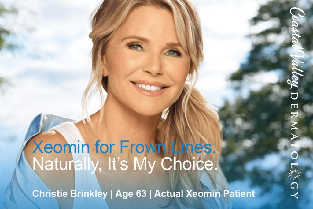 coastal-valley-dermatology-xeomin-sale-christie-brinkley-photo
