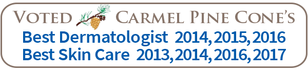 coastal-valley-dermatology-carmel-pine-cones-best-skin-care-2017